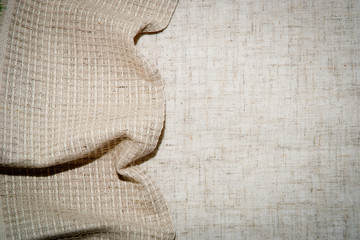 linen fabric for background