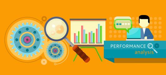 Performance analysis concept