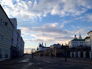 center of Kazan, Russia