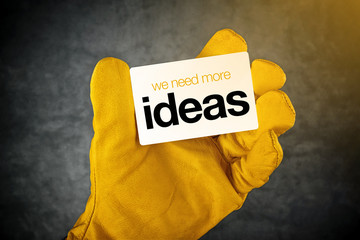 We Need More Ideas Business Card