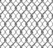 Chain Fence Seamless Pattern