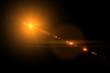 Vector star, sun with lens flare. - 81911428