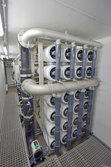 water treatment with reverse osmosis