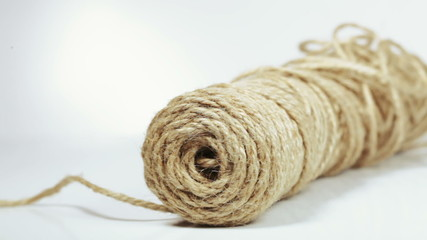 Flax hemp rope