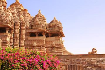 Devi Jagdambi Temple, Western Temples in Khajuraho, India.