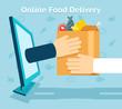 Online food delivery - 81912466