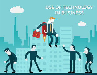 Use of technology in business