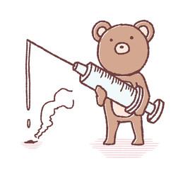 クマの注射