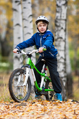 boy on the bike