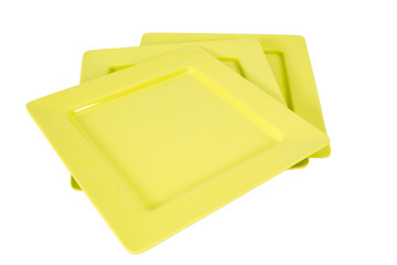 ceramic plate isolated