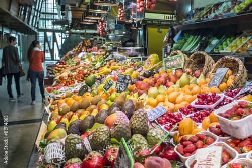 Fotobehang Boodschappen frutta e verdure
