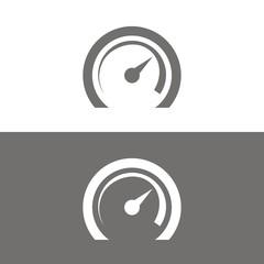 Icono velocímetro BN