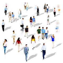 Diversity Ethnicity Togetherness Variation Crowd Concept