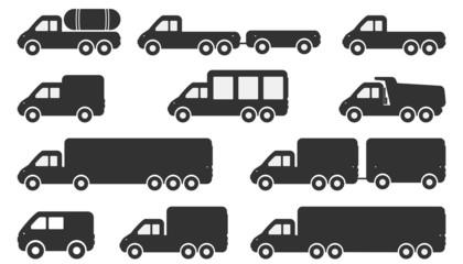 Cartoon Car Icons
