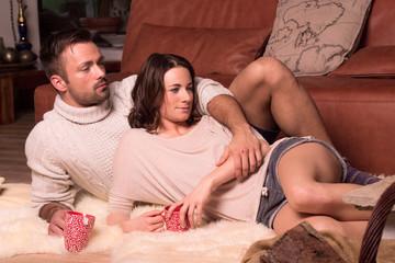 Paar beim entspannen II