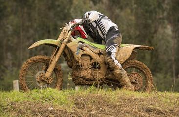 Avería motocross