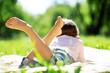 Girl in park - 81920604
