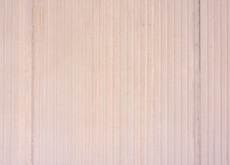 Exterior Grooved Wall Wide View