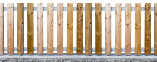 clôture bois métal