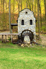 Stone watermill