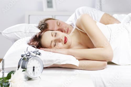 Leinwanddruck Bild Sprouts in bed