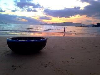 рассвет на берегу