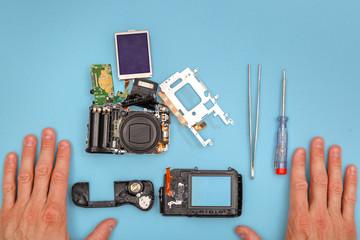 fixing broken camera
