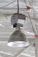 dirty industrial lamp, High Bay Lighting