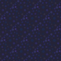 Nahtloses skalierbares dunkles Muster mit Kreisen