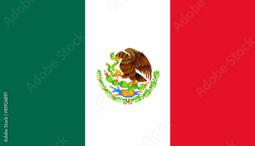 Mexican Flag - 81926897