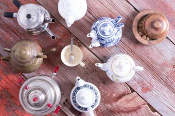 Tea on demand concept