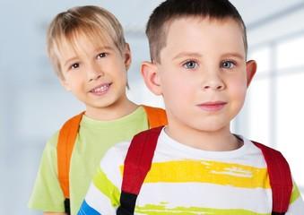 School. Kids ready back to school