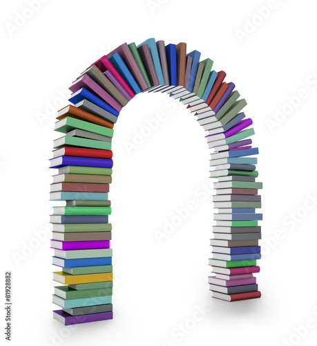 Book arch © Mopic