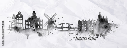 Silhouette ink Amsterdam - 81928884