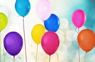 Balloon. Helium balloons