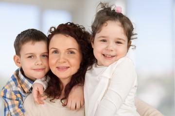 Family. Single mom