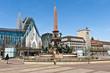 Leinwandbild Motiv Augustusplatz Leipzig