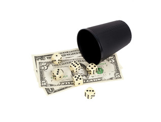 Gambling with dice win money