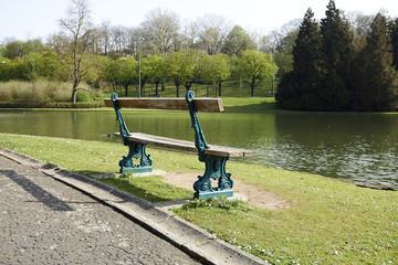 Beautiful Park Bench