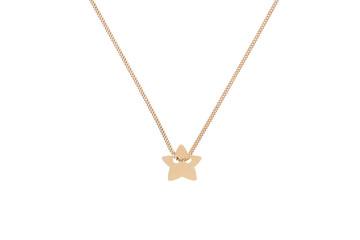 Złoty łańcuszek z gwiazdką
