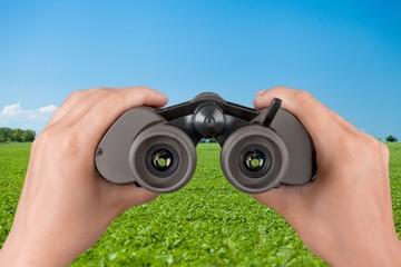 Vision. Binoculars