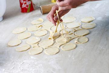 Manufacturing of pelmeni