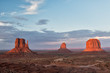 Monument Valley view at sunset - 81936824