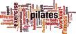Pilates word cloud concept. Vector illustration - 81938632
