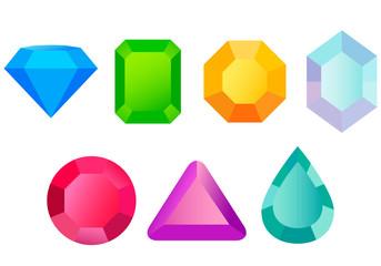 Set precious stones