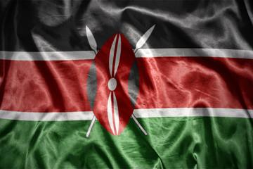 shining kenyan flag