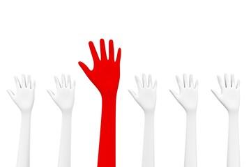 unique hand