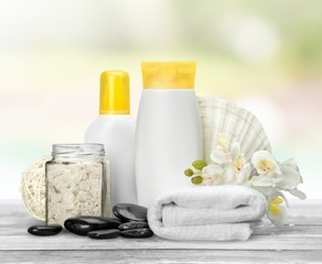 Merchandise. Spa products