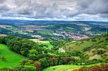 Blick über den Thüringer Wald