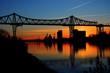 Leinwanddruck Bild - Brücke